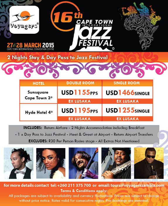 Cape Town International Jazz Festival 2015